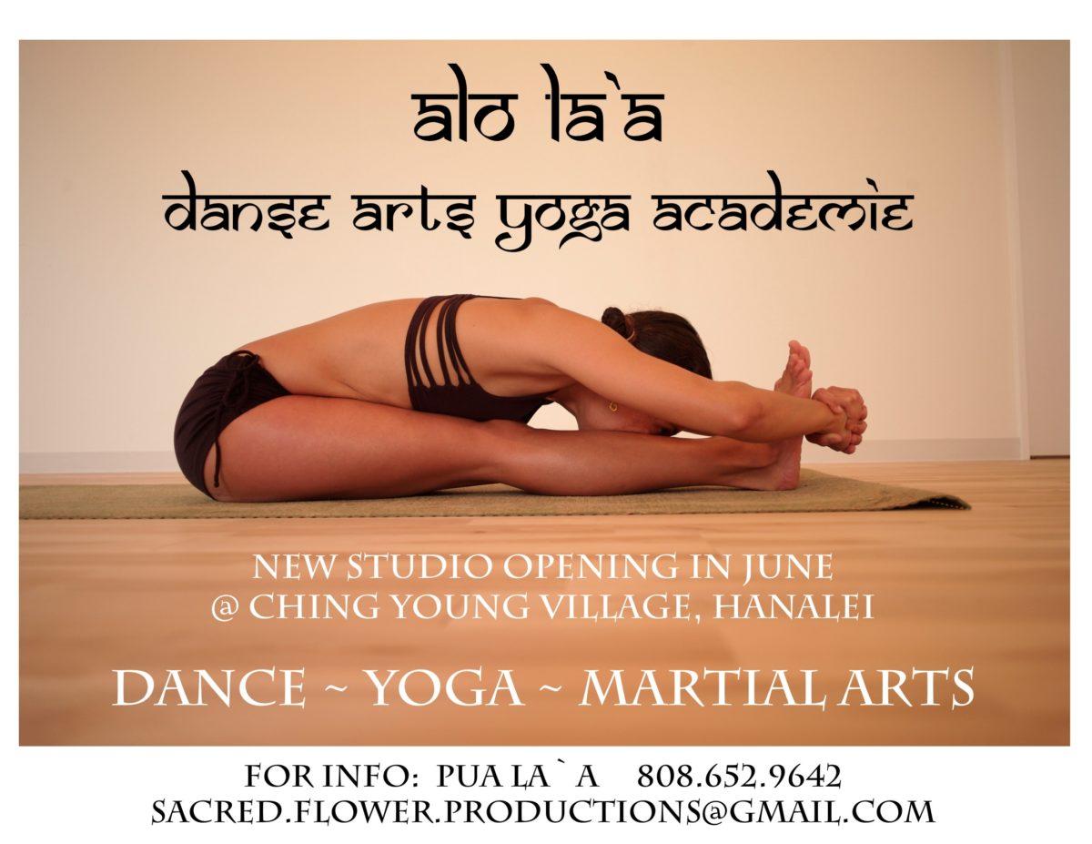 Alo Laà ~ Danse ARTs Yoga Academie